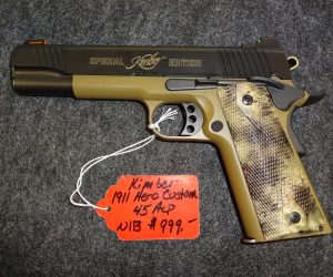 Kimber 1911 Hero Custom 45 ACP