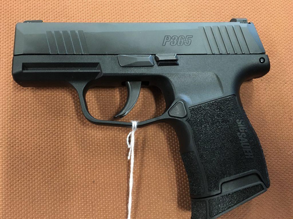 Sig Sauer P365 9mm $559 – Pinnacle Firearms